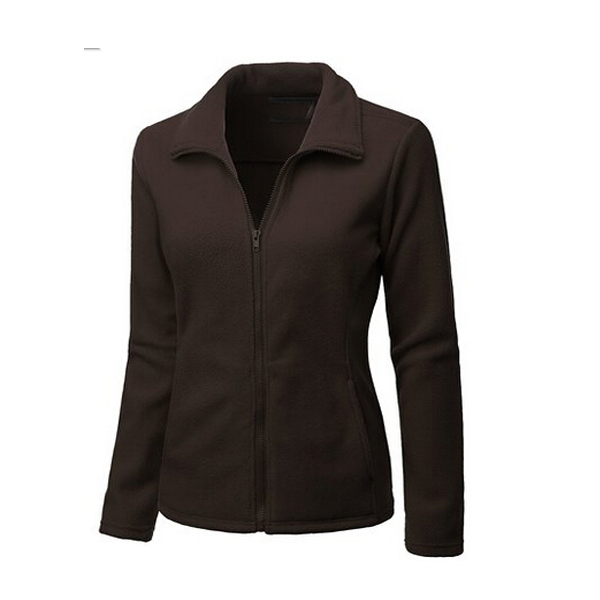 body fit fleece jacket