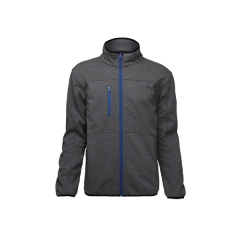 Zip Front Soft Shell Coat